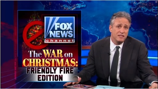 Daily Show War on Christmas